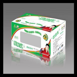 酸酸乳纸盒包装设计