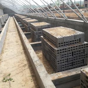 建设中的恒温大棚