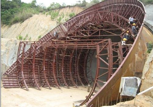 隧道帽檐模板
