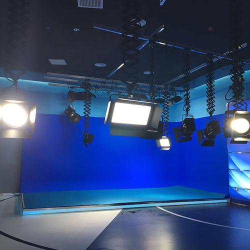 灯箱虚拟灯光全景演播室