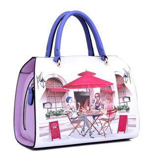 2014新款韩版漫画时尚手提包