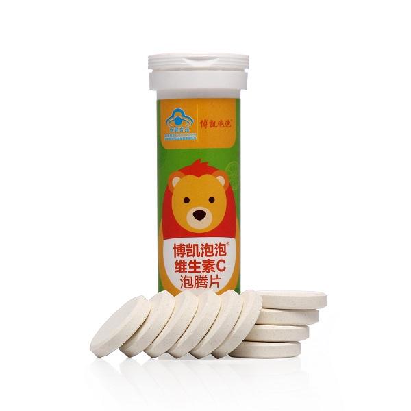 博凯泡泡维生素C泡腾片(4-14岁)