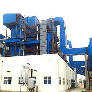 兰考瑞华生物质角管锅炉项目