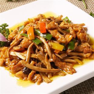 茶树菇鸡翅