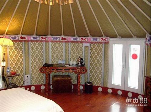红色农家乐蒙古包|特殊尺寸也可订做|河南蒙古包厂家