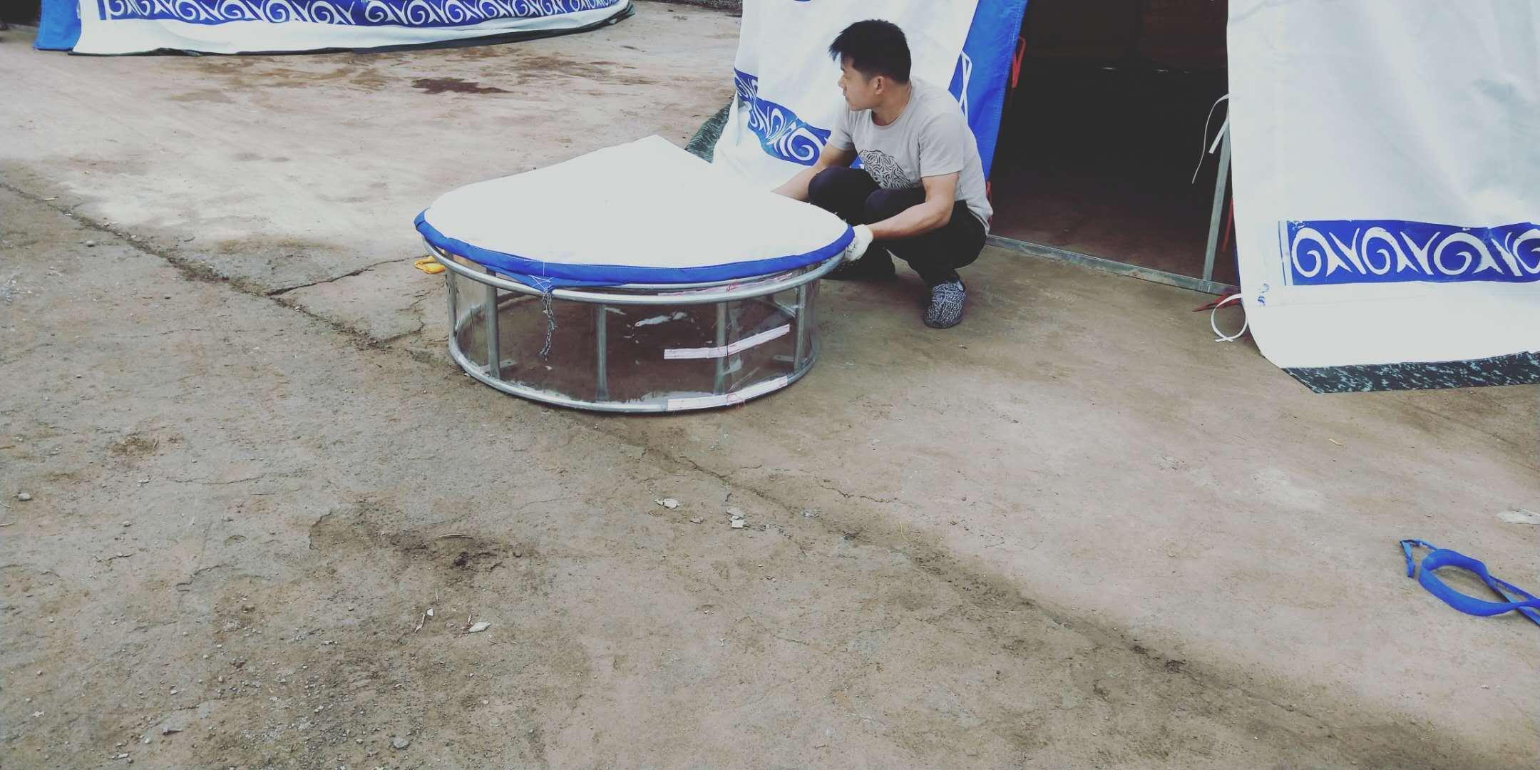 钢架蒙古包安装步骤蒙古包详细的安装方法说明