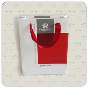 银行白卡纸手提袋系列