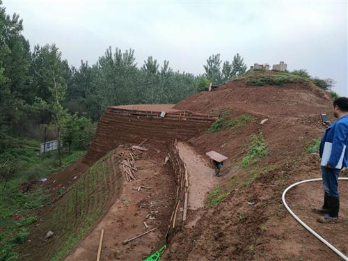 蔡国古城北城垣中段遗址保护工程