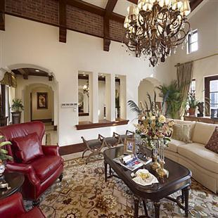 美式古典别墅豪宅大户型装修设计