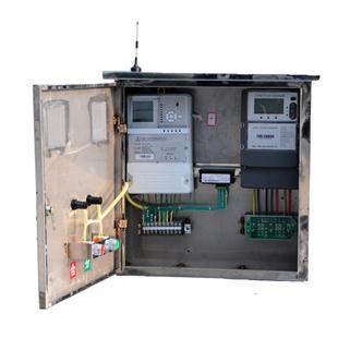 控制单元(采集终端)和计量单元(电能表)安装于同一