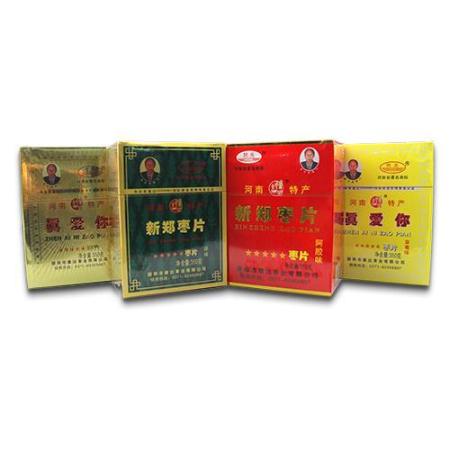 350g新郑枣片 组合4种口味