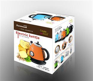 电水壶纸盒包装设计