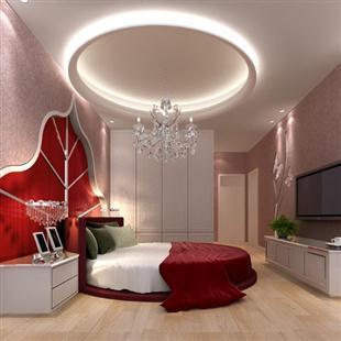 室内装修设计,简欧奢华别墅客厅装