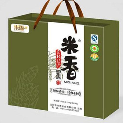 大米礼品箱,纸箱,礼盒-案例展示--郑州荣威印刷包装