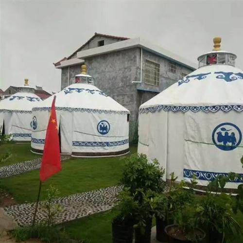 豪华钢塑农家乐蒙古包