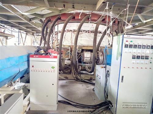 大型吹膜电磁加热改造