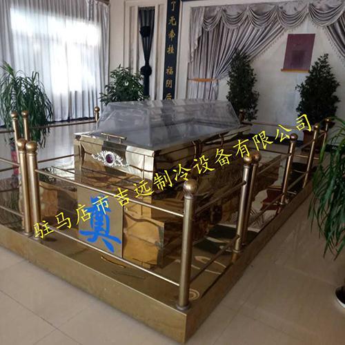 殡仪馆瞻仰棺