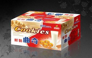 奶油曲奇纸盒包装设计