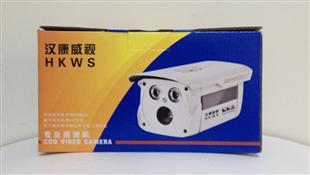 汉康威视摄像头纸盒包装设计