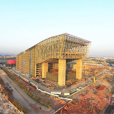 31-1广州花都万达城泡沫混凝土屋面保温、室内垫层项目