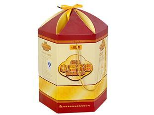 小磨香油纸盒包装设计