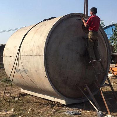 整体式钢筋混凝土化粪池