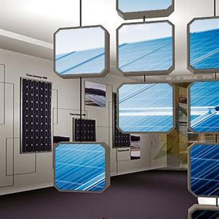 太阳能企业展厅