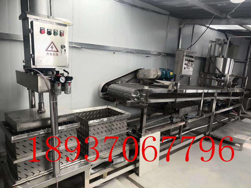 小型豆腐皮機,時產50-70公斤黃豆