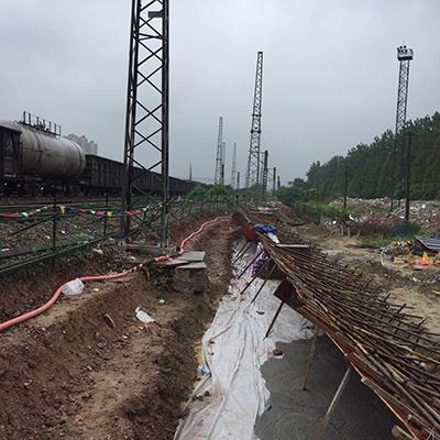 25-3泗杭铁路电气化改造工程轻质土回填项目