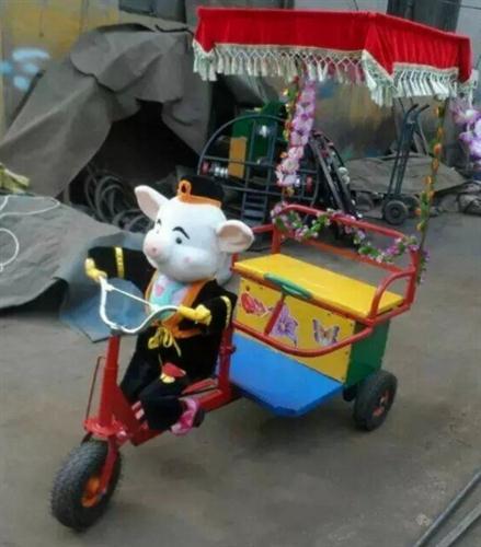 机器人蹬车亲子游戏机