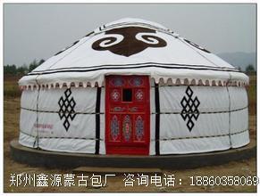 钢塑蒙古包的发展