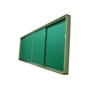 四块装推拉黑板(闭合状态)