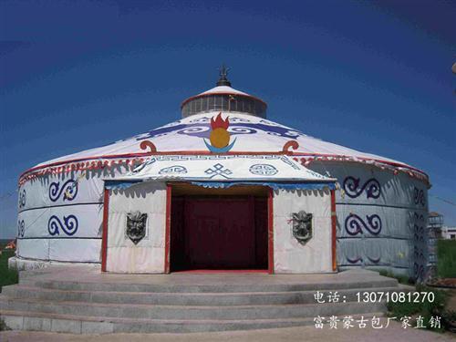 蒙古包的主要部件是什么
