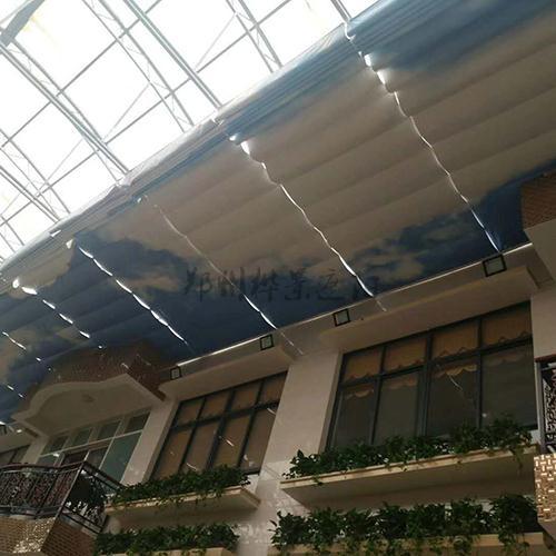 室内折叠式遮阳帘