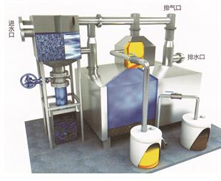 普通除渣型油水分离器