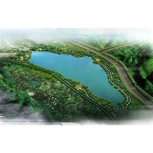 上街区太溪湖景观