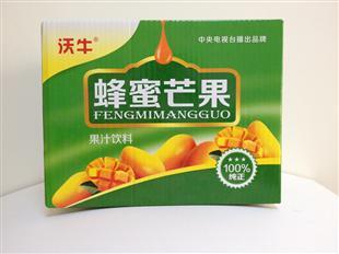 蜂蜜芒果纸盒包装设计