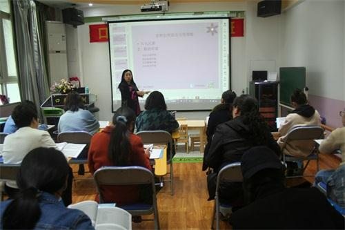 口肌训练师培训张桂娥讲课