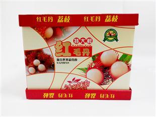 红毛丹 水果包装盒