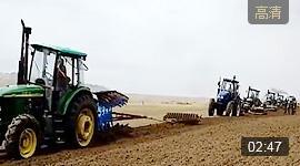 中国耕耘史上最庞大的龙丰团队-铸就青藏高原农机化新的里程碑
