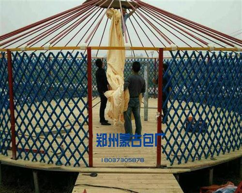 木质蒙古包价格|传统蒙古包搭建方法