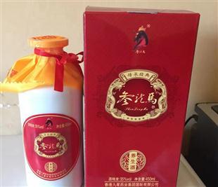 参龙马酒450ml装