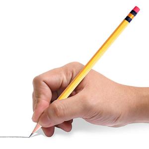 二:教给学生正确的执笔方法