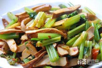12元芹菜香干饭