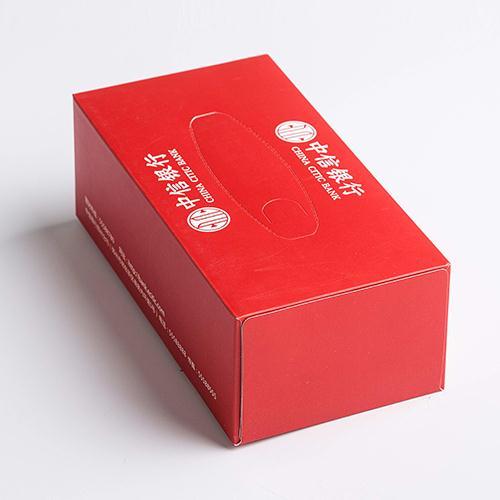 中信银行盒装抽纸