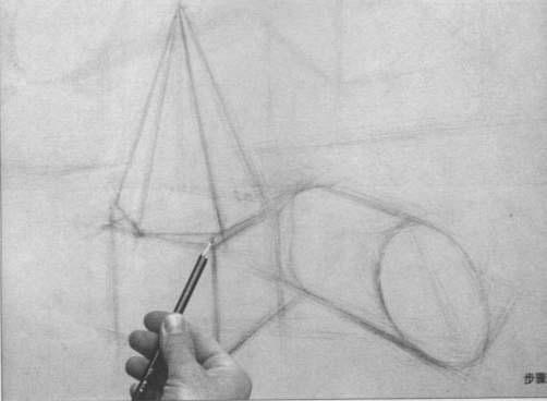 素描几何体步骤