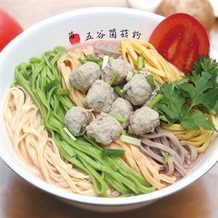 肉丸菌菇面