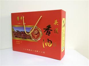 头道香油纸盒包装设计