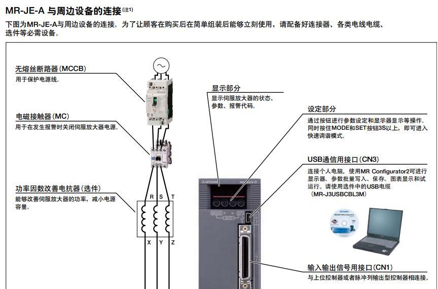 伺服脉冲加方向电路图