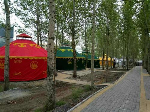 河南仙源餐饮住宿蒙古包生产厂家